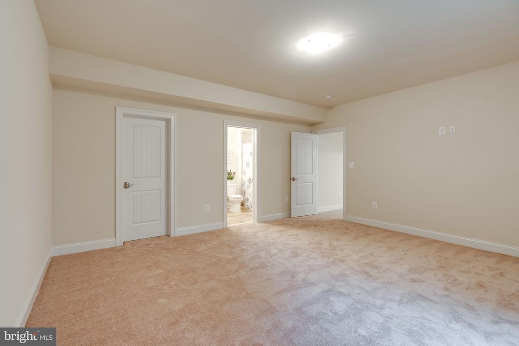Bedroom 6 - Lower Level w/Walk-in Closet - 8506 SHADEWAY PL, SPRINGFIELD