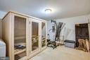 Sauna and exercise room - 12103 SAWHILL BLVD, SPOTSYLVANIA