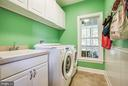 Main level laundry - 12103 SAWHILL BLVD, SPOTSYLVANIA