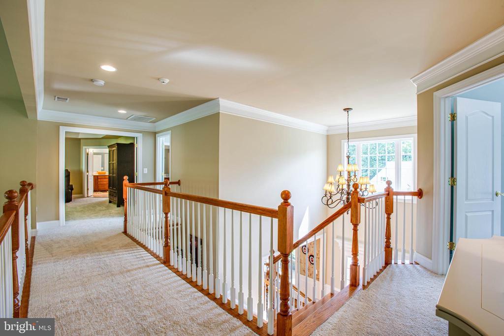 Upstairs hallway - 12103 SAWHILL BLVD, SPOTSYLVANIA