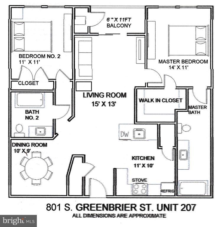 - 801 S GREENBRIER ST #207, ARLINGTON