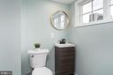 Top Floor Full Bath - 2829 29TH ST NW, WASHINGTON
