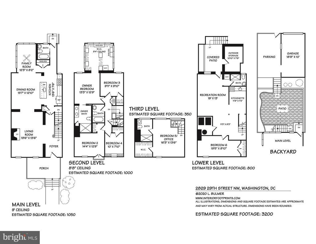 Floor Plan - 2829 29TH ST NW, WASHINGTON