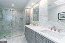Spa-Like Master Bathroom with Dual Vanity - 2829 29TH ST NW, WASHINGTON