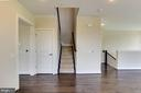 Stairs up - 1851 MICHAEL FARADAY DR, RESTON