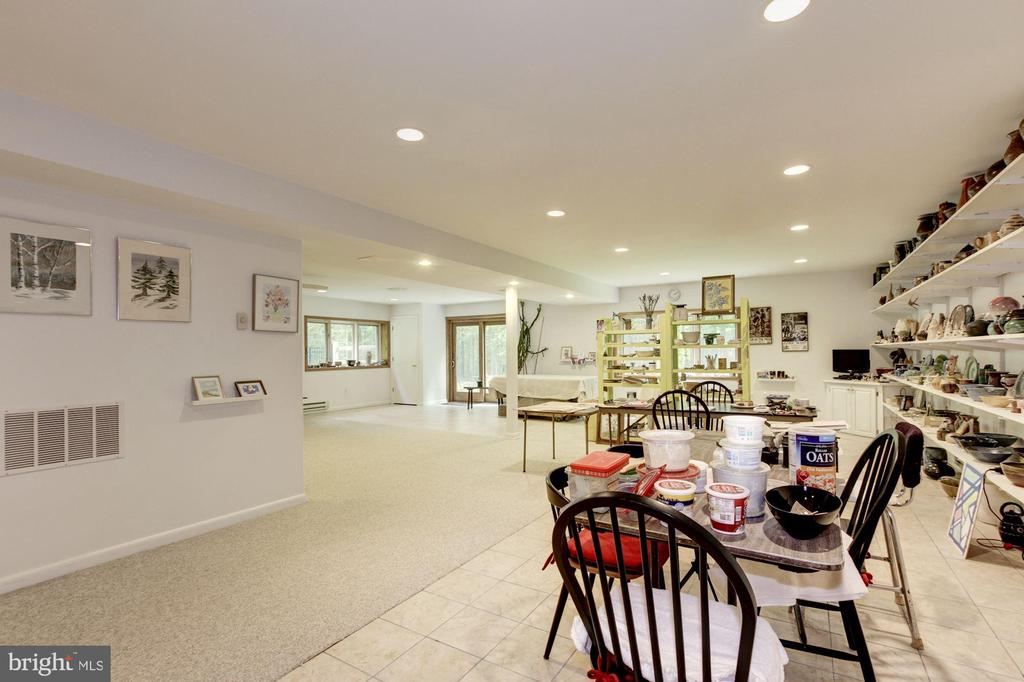 Lower level - Recreation room - 17007 BARN RIDGE DR, SILVER SPRING