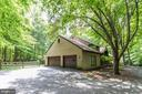 Three-car Garage  - (two doors but holds 3 cars) - 17007 BARN RIDGE DR, SILVER SPRING