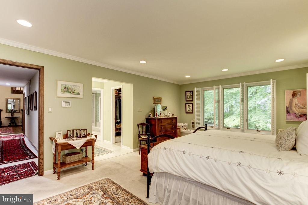 Master Bedroom - 17007 BARN RIDGE DR, SILVER SPRING
