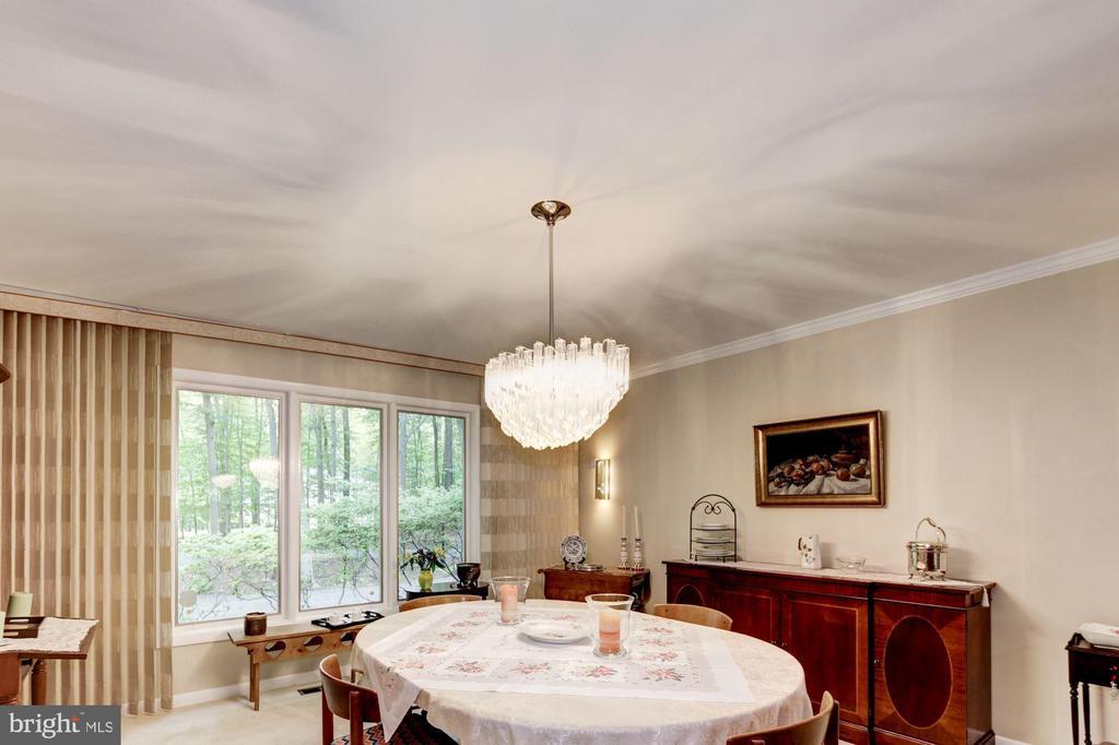 Interior - Dining Room - 17007 BARN RIDGE DR, SILVER SPRING