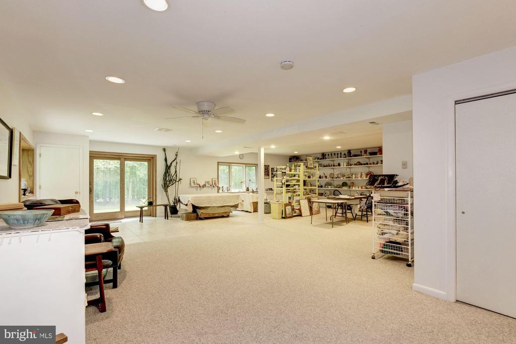 Lower Level Spacious Recreation Room - 17007 BARN RIDGE DR, SILVER SPRING