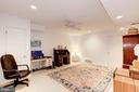 Lower Level - Office or 5th Bedroom - 17007 BARN RIDGE DR, SILVER SPRING