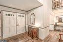 Wide Welcoming Foyer - 8601 CATHEDRAL FOREST DR, FAIRFAX STATION