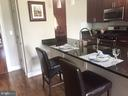 Kitchen w/ Breakfast Bar - 6301 EDSALL RD #614, ALEXANDRIA