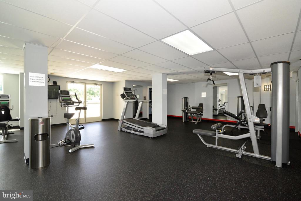 Fitness Center - 6301 EDSALL RD #614, ALEXANDRIA