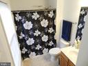Owner's bath with updated lighting. - 10118 S FULTON DR, FREDERICKSBURG