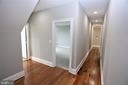 Hallway - 28500 RIDGE RD, MOUNT AIRY