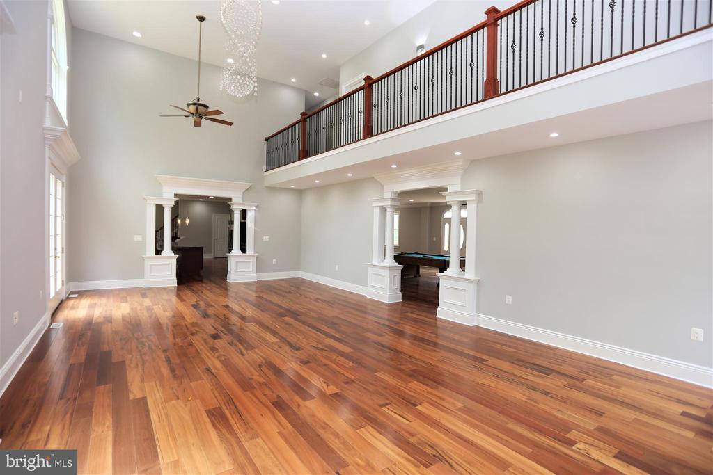 Elegant Family Room Full of Custom Features - 28500 RIDGE RD, MOUNT AIRY