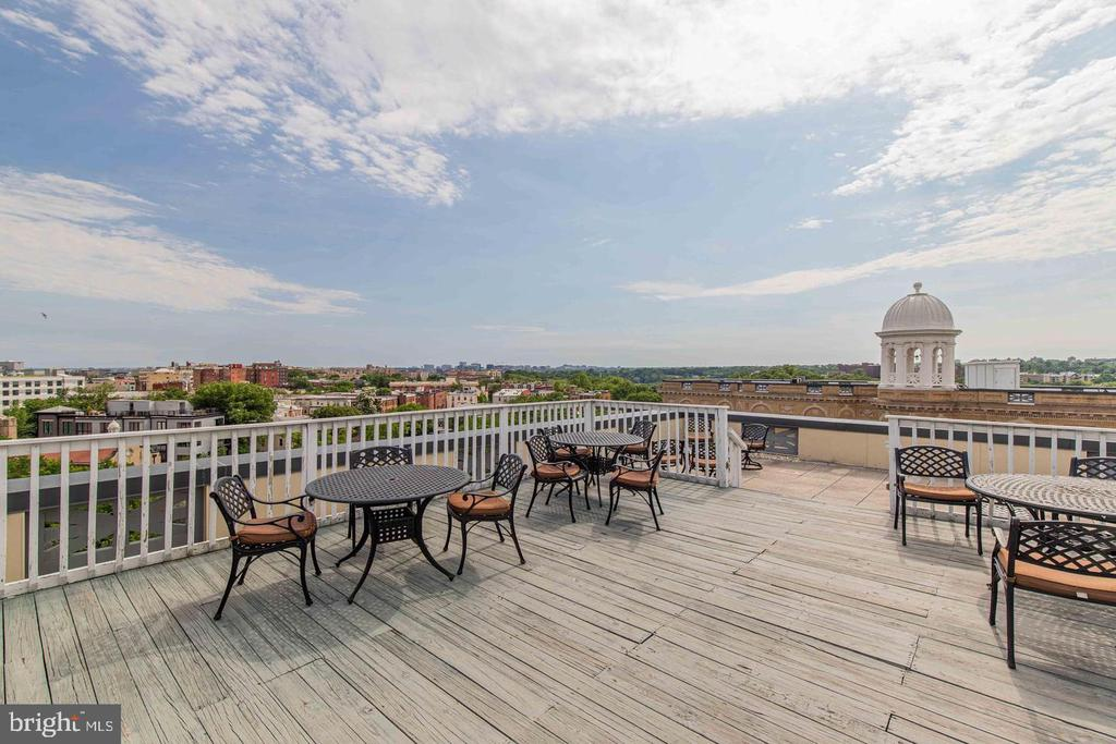 Rooftop views of the City - 2853 ONTARIO RD NW #205, WASHINGTON