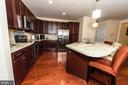 Kitchen with recessed lighting - 160 BURLEY ST #101, STAFFORD