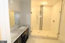 Basement - Full Bath - 10713 JONES ST, FAIRFAX