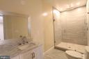 Basement - Full Bath 2 - 10713 JONES ST, FAIRFAX