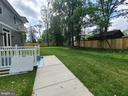 Back yard - 10713 JONES ST, FAIRFAX