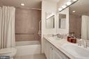 MASTER BATHROOM - 3101 NEW MEXICO AVE NW #1009, WASHINGTON