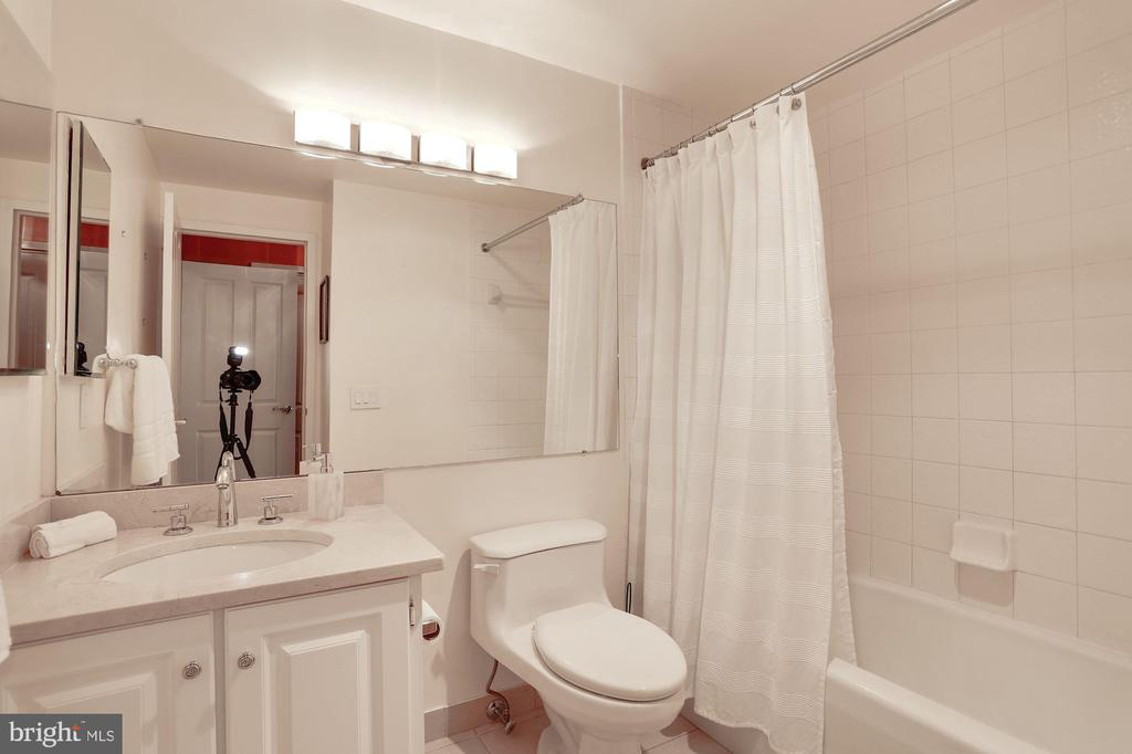 GUEST BEDROOM BATH - 3101 NEW MEXICO AVE NW #1009, WASHINGTON