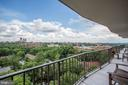 TERRACE WITH CATHEDRAL VIEW - 3101 NEW MEXICO AVE NW #1009, WASHINGTON