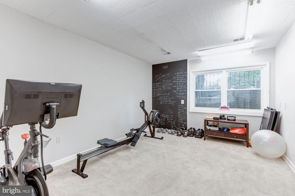 Work out room on lower level - 6244 COLUMBIA PIKE, FALLS CHURCH