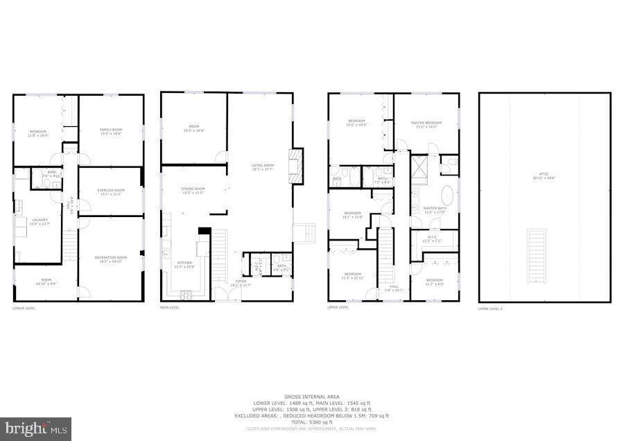 Whole home floor plan - 6244 COLUMBIA PIKE, FALLS CHURCH