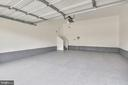 Newly painted garage walls  and floor - 25635 LAUGHTER DR, ALDIE