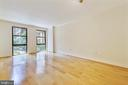 Sizeable Living Room with Gleaming Wood Floors - 616 E ST NW #302, WASHINGTON