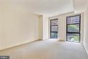 Generous Master Bedroom - 616 E ST NW #302, WASHINGTON