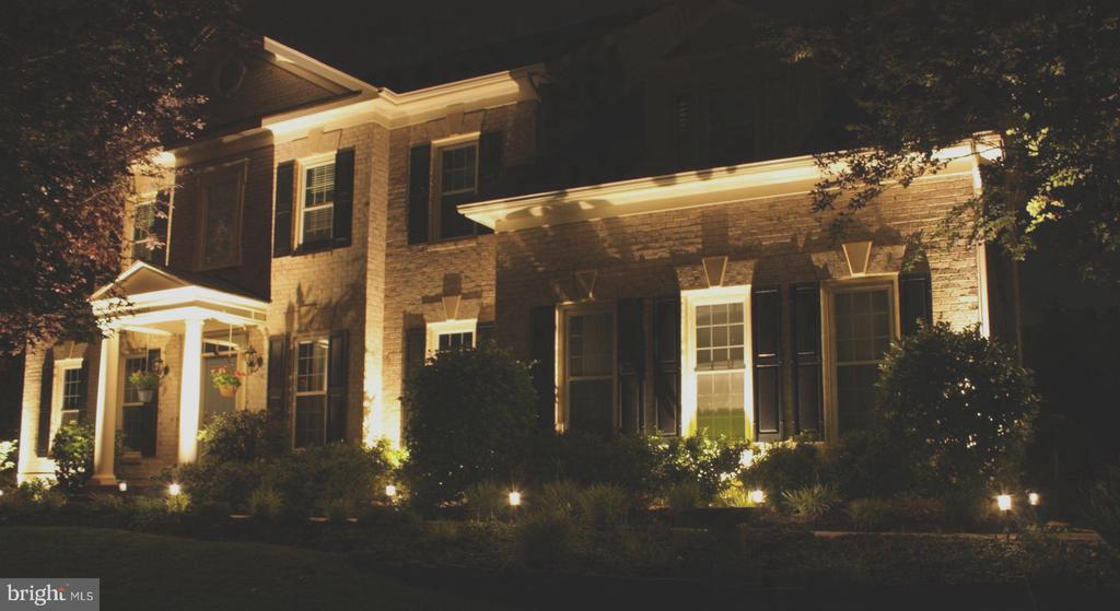 Your Home Lite at Night - 18503 PELICANS NEST WAY, LEESBURG