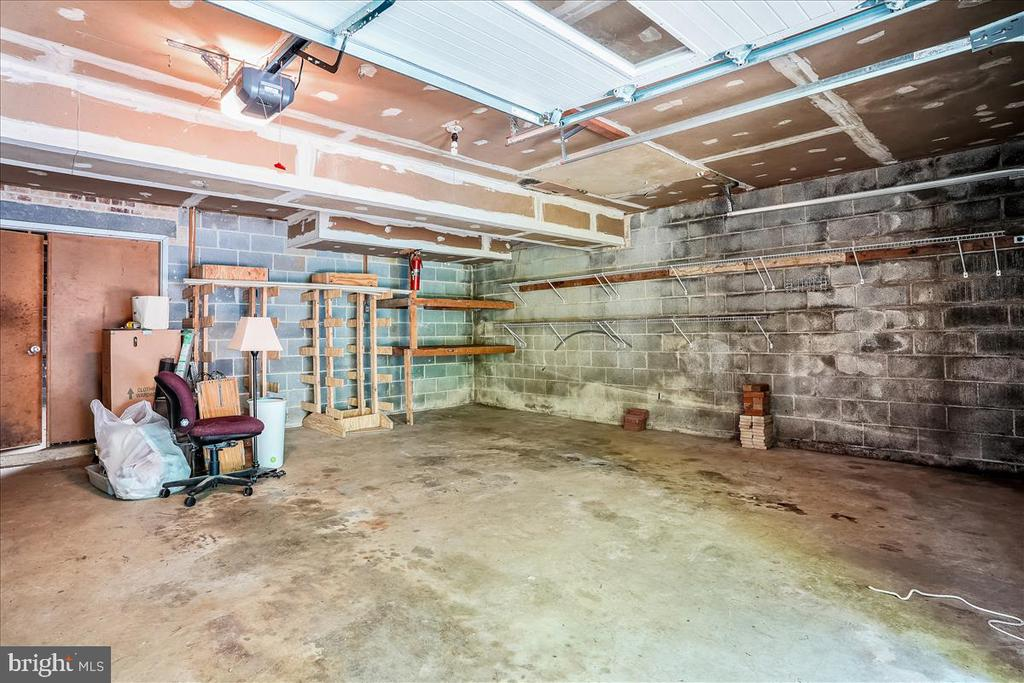 Unfinished basement - 7447 CLIFTON RD, CLIFTON