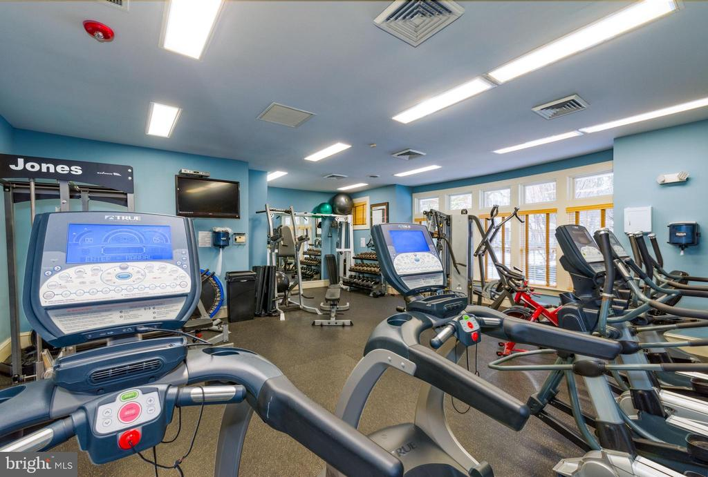 Clubhouse Gym only a couple of blocks away - 12075 TRUMBULL WAY, RESTON