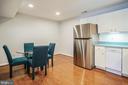 Basement Kitchen - 6343 WILLOWFIELD WAY, SPRINGFIELD