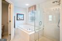Master Bathroom - 6343 WILLOWFIELD WAY, SPRINGFIELD