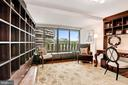 Bedroom 1/Office with Potomac River Views - 2500 VIRGINIA AVE NW #502/503, WASHINGTON