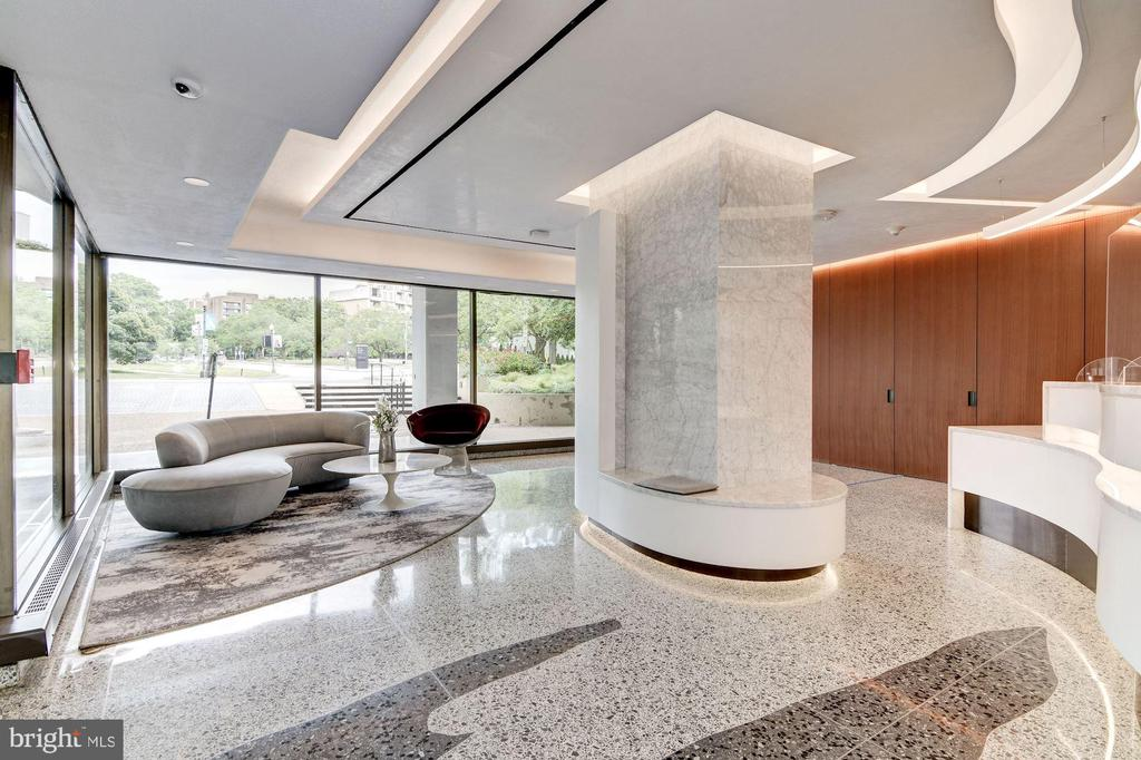 Watergate East Renovated Lobby/Front Desk - 2500 VIRGINIA AVE NW #502/503, WASHINGTON
