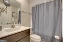 Main Level Full Bathroom if perfect for guests - 22983 WORDEN TER, BRAMBLETON