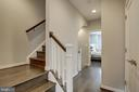 Hallway to Loft/Rec Room and 4th bedroom - 22983 WORDEN TER, BRAMBLETON