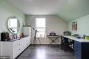 Bedroom on Top Floor is spacious and privaate - 22983 WORDEN TER, BRAMBLETON