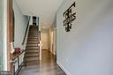 Large Entry Way with engineered hardwood flooring - 22983 WORDEN TER, BRAMBLETON