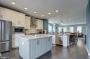 Fantastic flow - Kitchen, Dining, and Living Areas - 22983 WORDEN TER, BRAMBLETON