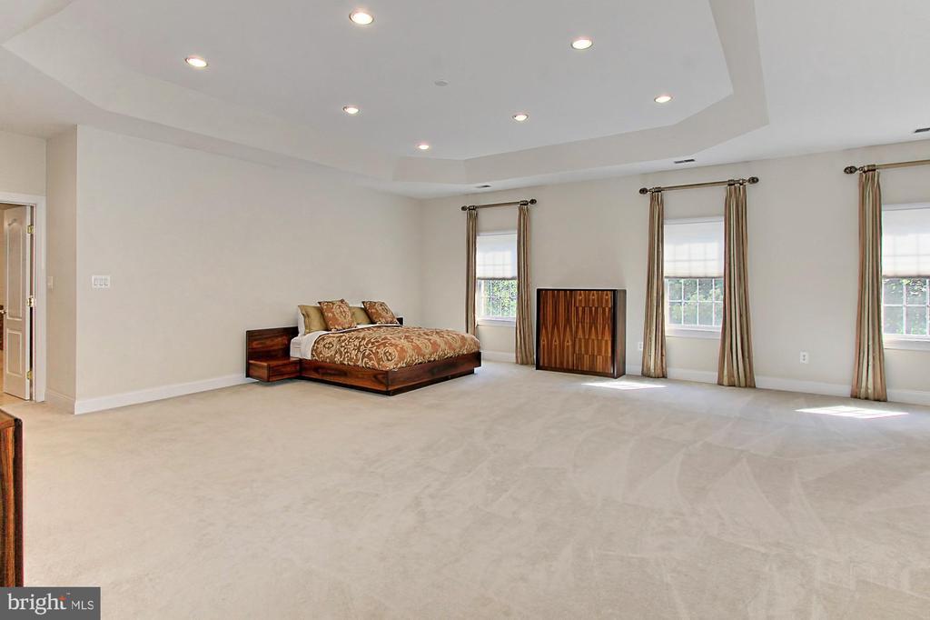 Owner's Suite Bedroom - 7307 ALLAN AVE, FALLS CHURCH