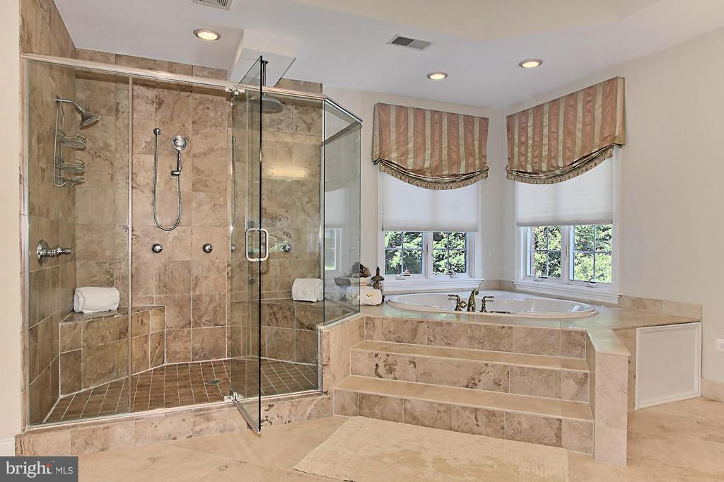 Owner's Suite Spa Bathroom - 7307 ALLAN AVE, FALLS CHURCH