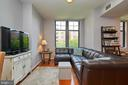 Large windows for great light - 1021 N GARFIELD ST #323, ARLINGTON
