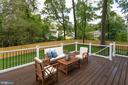 OVER-SIZED DECK FOR ENTERTAINING. - 212 TAPAWINGO RD SE, VIENNA